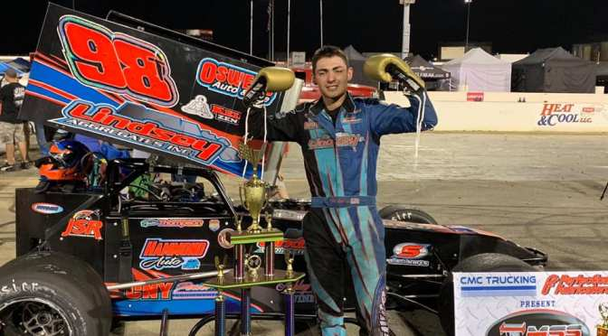 Tyler Thompson Continues Roll with Midwest Super Series Fall Brawl Victory at Lucas Oil Raceway Park