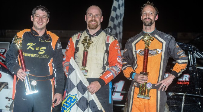 Krawiec Is Victories In USAC DMA Action At Bear Ridge Speedway