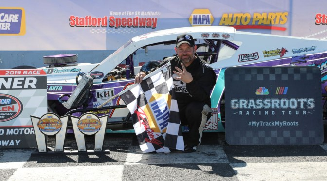 Todd Owen, Wayne Coury, Jr., & Teddy Hodgdon Score NAPA Fall Final Wins At Stafford; Ronnie Williams & Hodgdon Clinch Track Championships