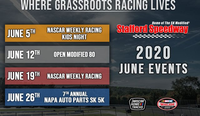 Stafford Speedway Schedule Preview: Busy June Kicks off Summer Stretch at Stafford