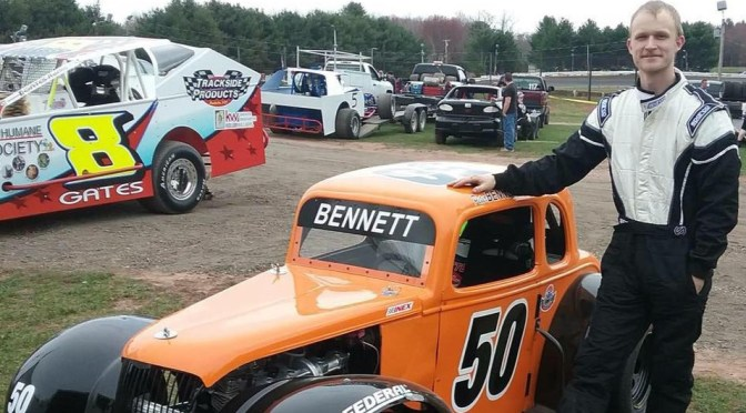 Legend Cars Champion Peter Bennett Stepping Up to Stafford's SK Lights