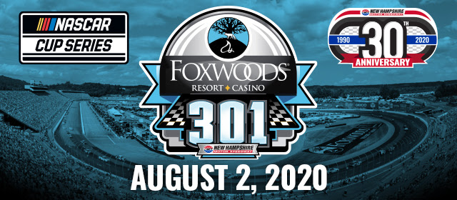 New Hampshire Motor Speedway to Host Fans for Aug. 2 Foxwoods Resort Casino 301