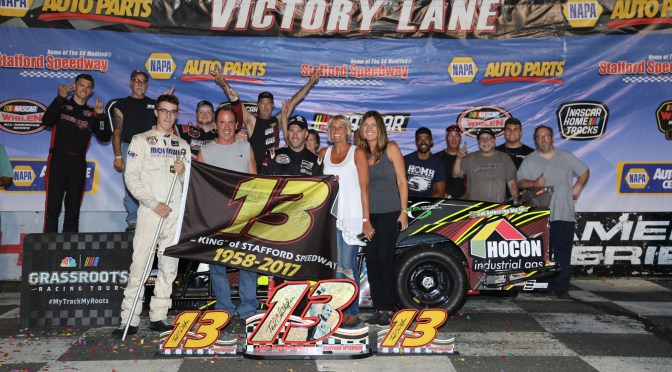 Stafford Speedway Hosting 3rd Annual TC 13 Shootout in Memory of Ted Christopher This Friday