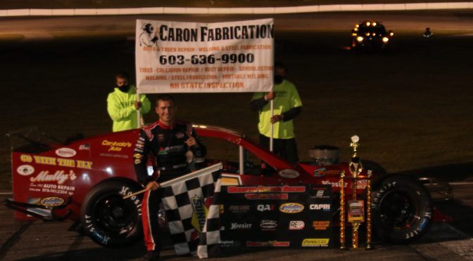 Williams, Donahue Take Caron Fabrication Twin 100s at White Mountain