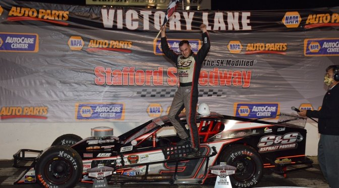 CHASE DOWLING POCKETS $10K PRIZE IN CALL BEFORE YOU DIG MODIFIED CLASSIC AT STAFFORD