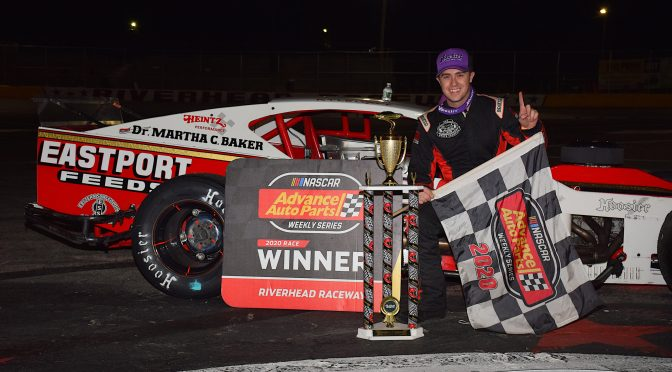 KYLE SOPER MUSCLES HIS WAY TO MIKE STEFANIK HALL OF FAME 160 VICTORY SATURDAY AT RIVERHEAD RACEWAY