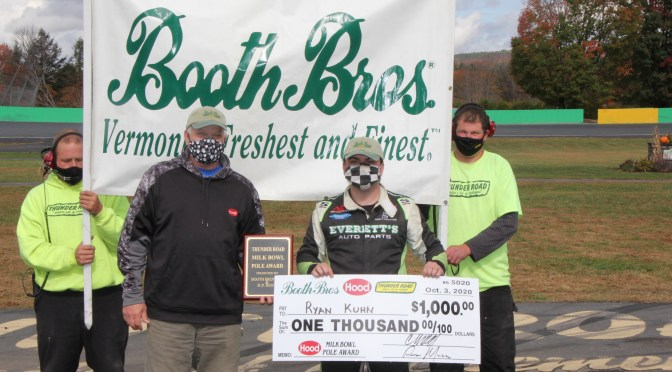 Kuhn Earns Pole for 58th Vermont Milk Bowl
