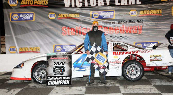 Andrew Durand Captures Second Limited Late Model Championship in Return to Full-Time Competition at Stafford