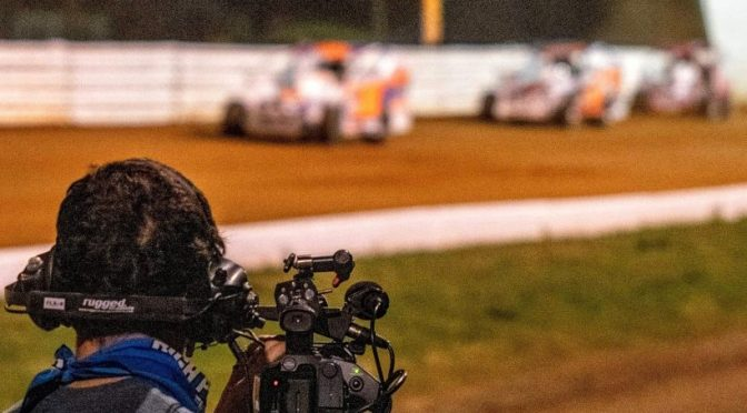 DIRT TRACK DIGEST TV CAMERAS READY TO COVER STSS SUNSHINE SWING
