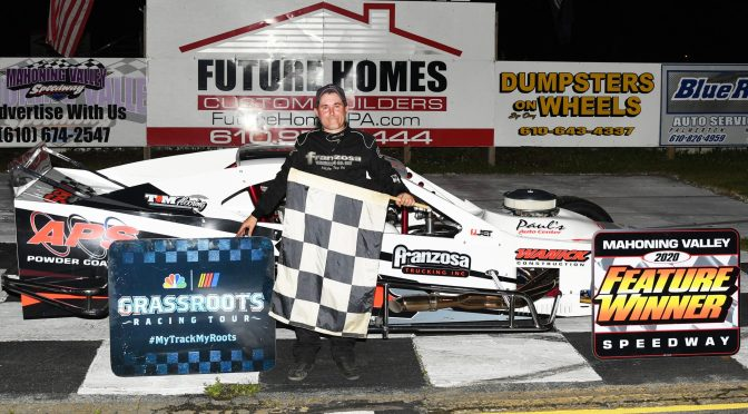 Mahoning Valley Speedway/Evergreen Raceway champion Bobby Jones geared for first run at World Series of Asphalt Racing at New Smyrna Speedway