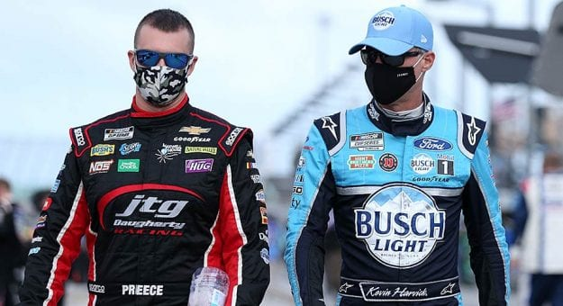 Kevin Harvick to compete in Bristol Trucks race on dirt, adds three Xfinity dates