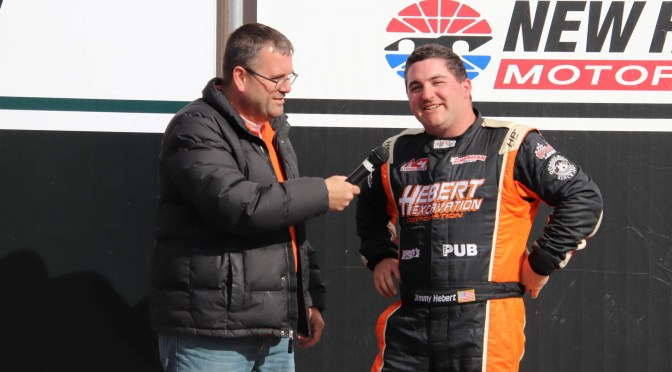 Hebert Finally Tastes NHMS Victory at Northeast Classic