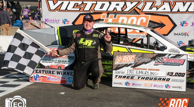 PATRICK EMERLING WINS EMPIRE STATE OPENER IN ROC ASPHALT MODIFIED SERIES COMPETITON AT CHEMUNG SPEEDROME