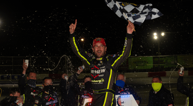 DOUG COBY LOOKS TO BEGIN CLIMB TO TOP OF WHELEN MODIFIED STANDINGS AT RIVERHEAD RACEWAY