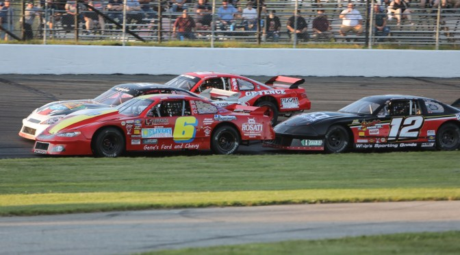 Alexandra Fearn and Jeremy Lavoie Taking Stafford Speedway Limited Late Model Title Fight Down to the Wire