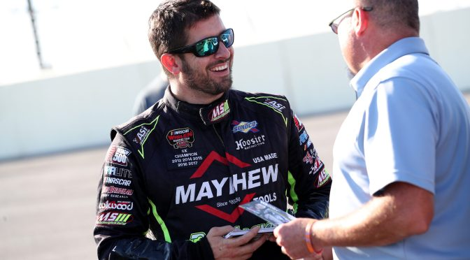 DOUG COBY RETURNS TO VIRGINIA LOOKING TO CELEBRATE IN RICHMOND VICTORY LANE