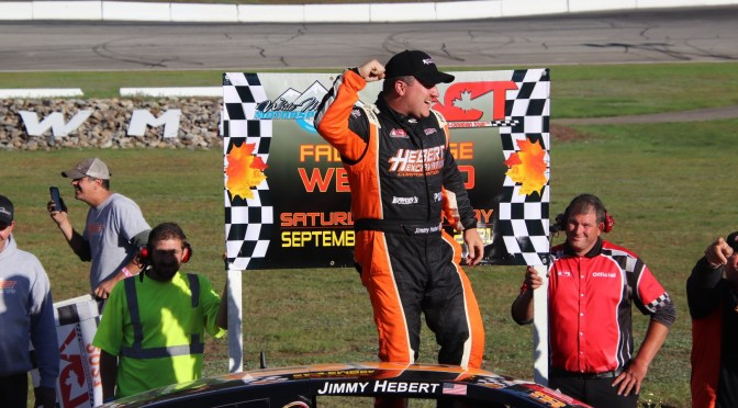 Hebert Continues Revival with Fall Foliage 200 Win at White Mountain