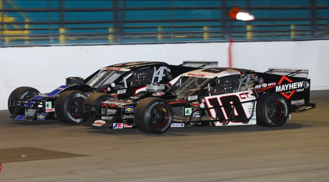 DOUG COBY QUALIFIES & FINISHES FOURTH AT OSWEGO SPEEDWAY