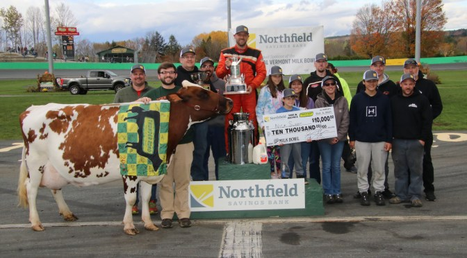 Sweet Equals Crouch with Record-Tying Fourth Vermont Milk Bowl Triumph