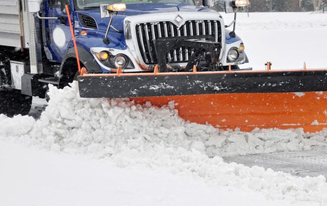 State transportation officials are warning drivers to be wary during a predicted storm that could dump 5 to 9 inches of snow on the area. (File photo)