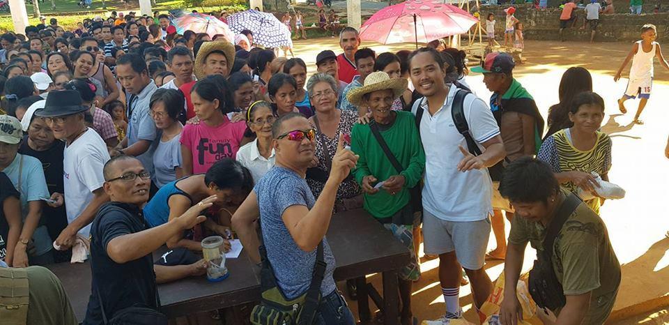SB Datu Sumnidad Community Service and Gift Giving at Barangay Yapak during Boracay's Closure