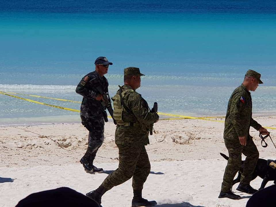 Oct 2018 Capability Demonstration on White Beach. Photo Credit Claire Ang