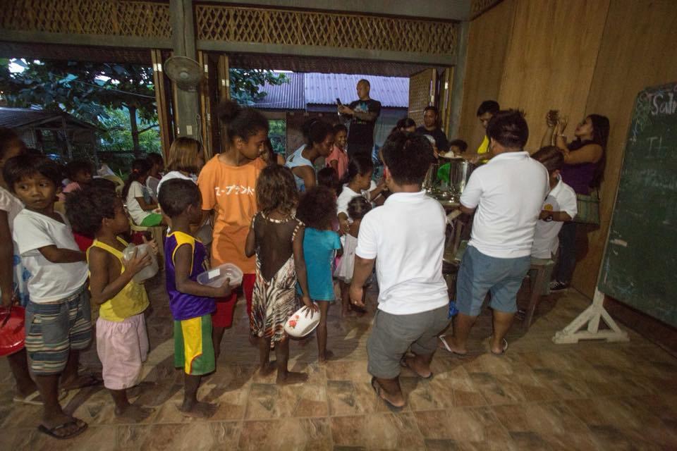 Feeding programs during Boracay's closure