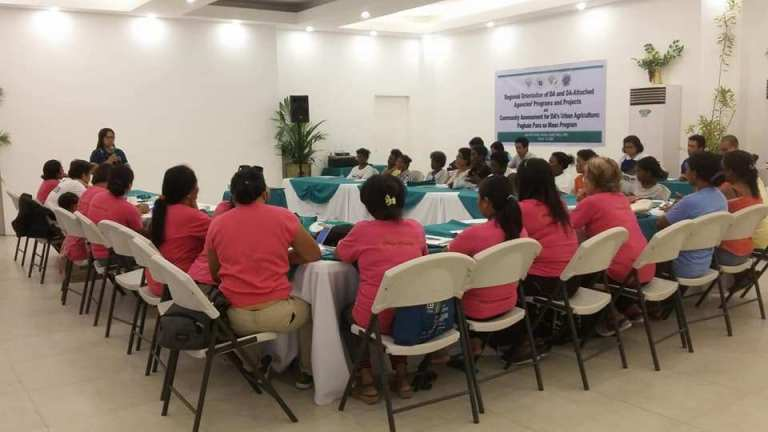 Boracay's Pinay Boracay attends Agricultural Training Institute during the Island's Closure