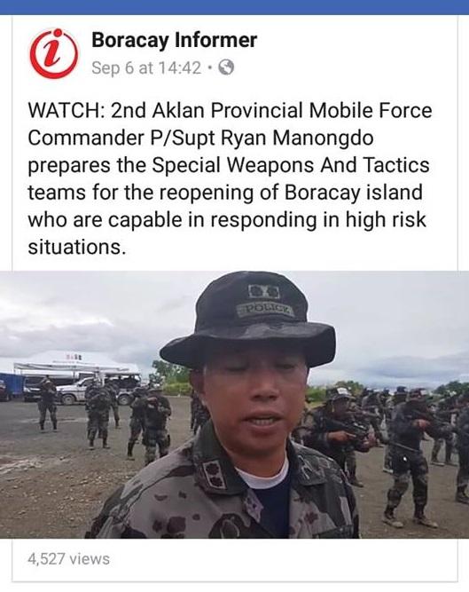 SWAT Team on Boracay Inside Boracay: Week 20