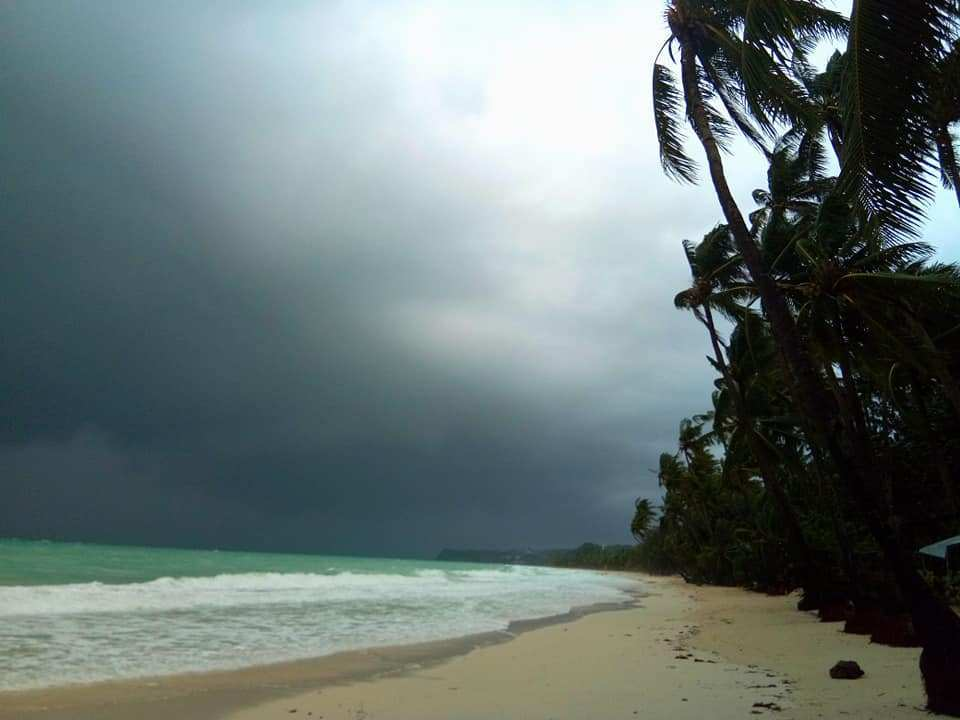 Typhoon Ompong 2018, thankfully did not come very close to Boracay