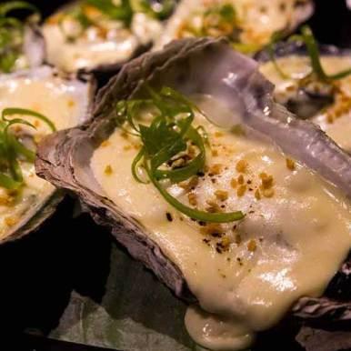 Gino Orztiz Hawaiian Cuisine served at Wild Restaurants Kitchen Takeover Night
