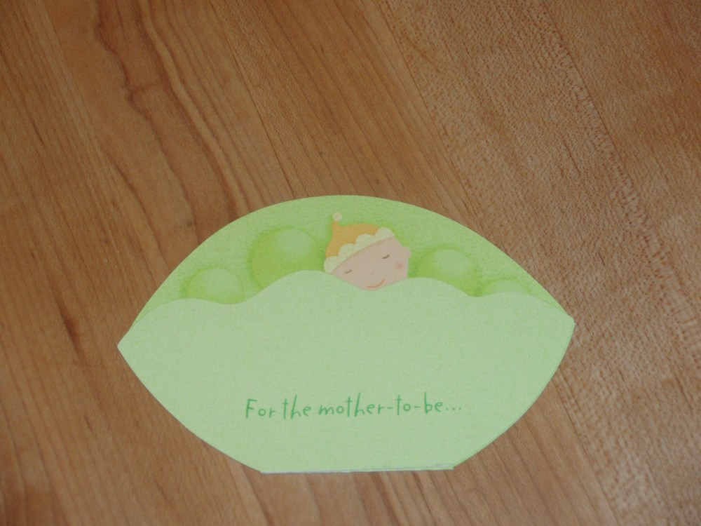 Sweet Pea Baby Shower Cake (1/6)