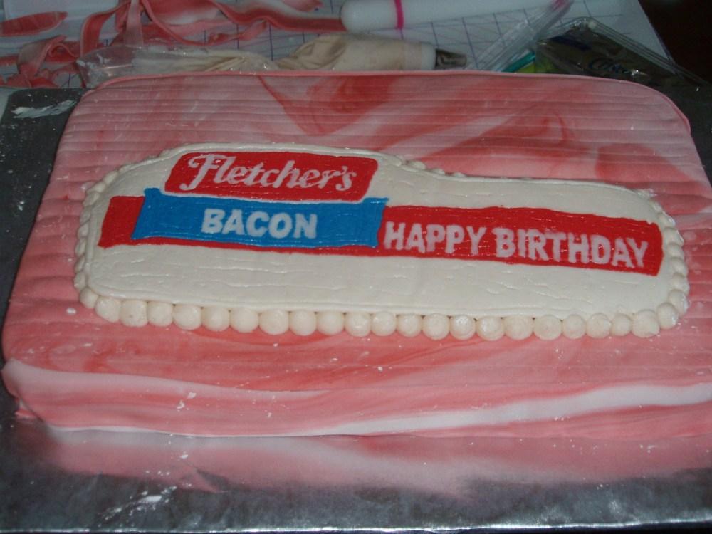 Fletch's Bacon cake (4/5)