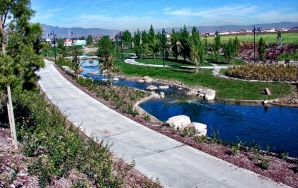 Part of the streams that are along Riverwalk. Photo Courtesy: MCMGroup