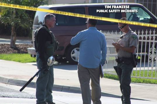 Officials discuss the incident that began in Winchester and ended in the city of Hemet. Robert Carter/Public Safety Incidents photo