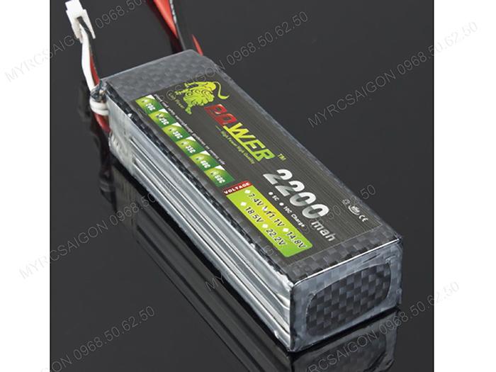 Pin Lion Power 11.1V 2200mAh 30C