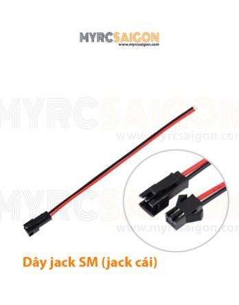 Dây jack SM (đầu cái)