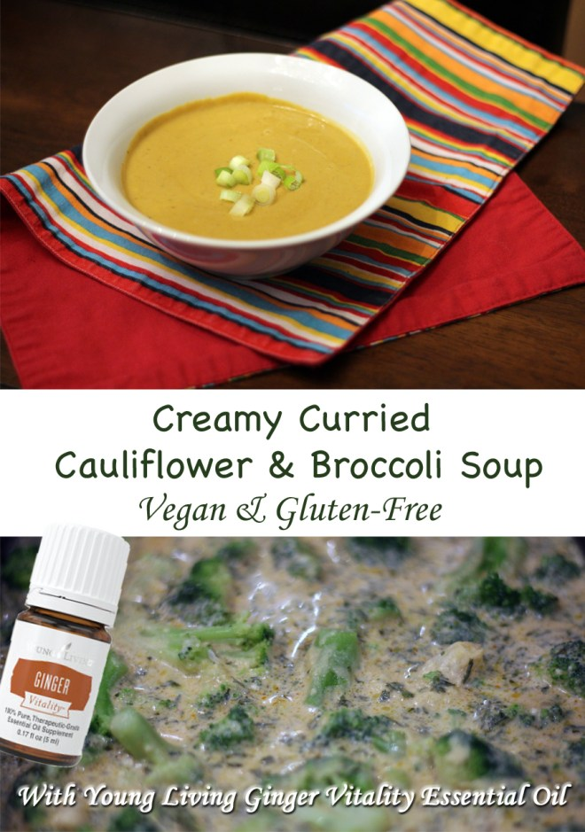 Creamy CauCreamy Cauliflower & Broccoli Curried Soupliflower & Broccoli Curried Soup