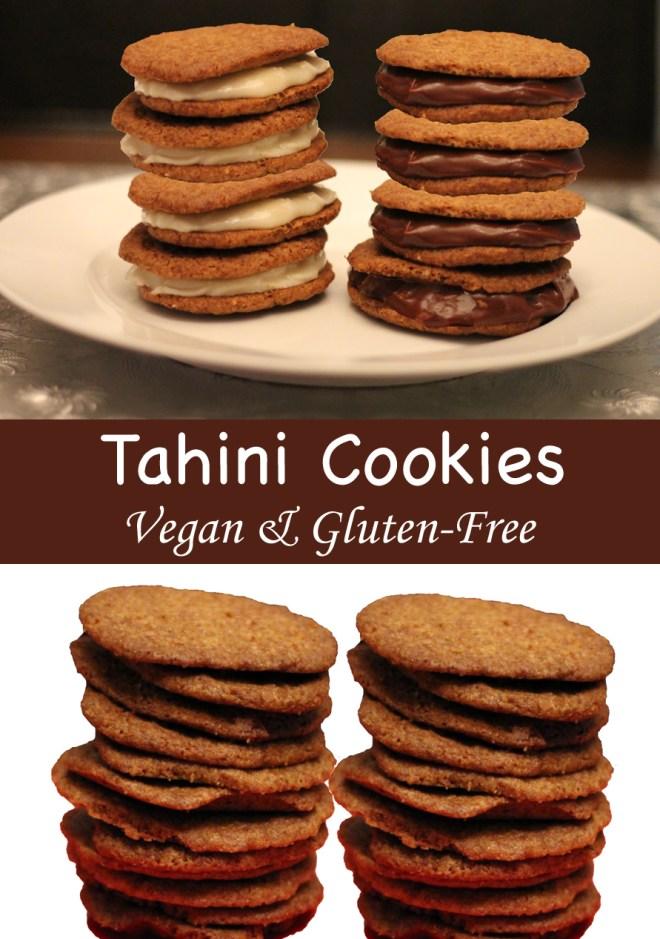 tahini cookie pinterest