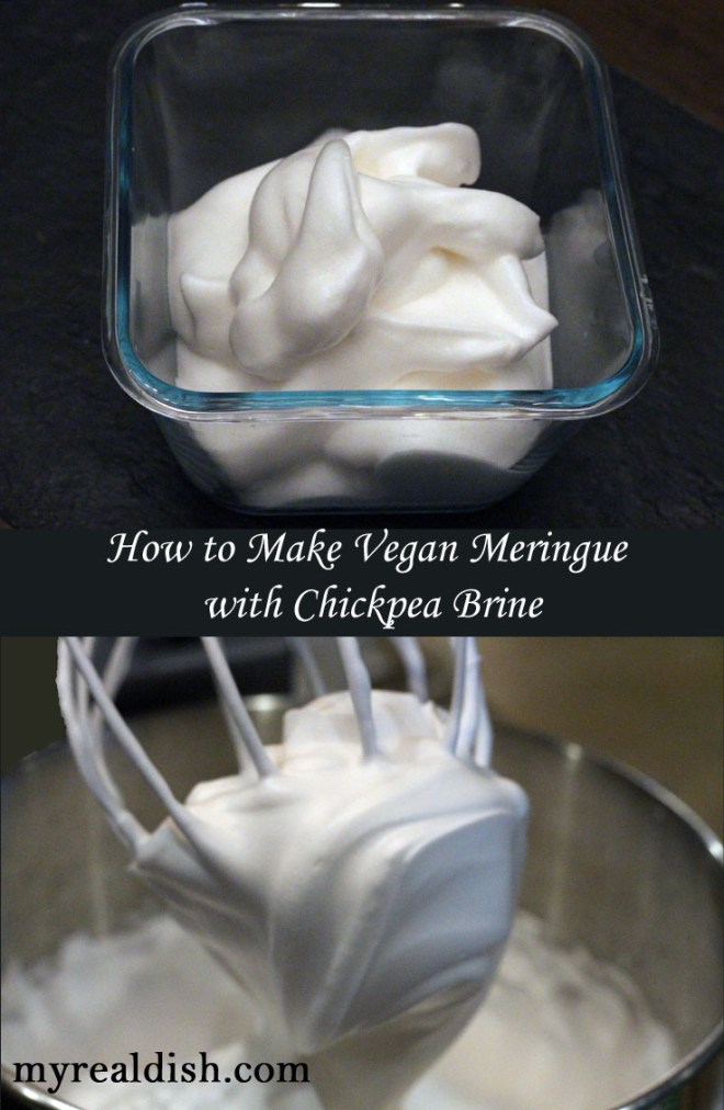 Vegan Meringue