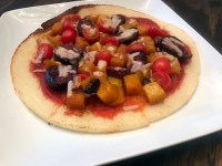 squash and fig pizza