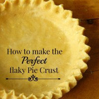 How To Make Perfect Flaky Pie Crust
