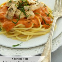 Chicken with Alfredo Marinara Sauce