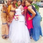 Bride & her friends