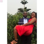 Capable Groom carries the Bride
