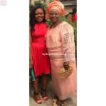 Beautiful Bride and her mum