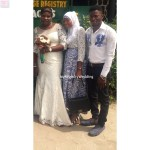 Bride with her relatives