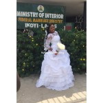Bride looks Adorable and gorgeous in her wedding dress #Dreamdress