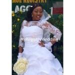 Whoa! Bride looks adorable