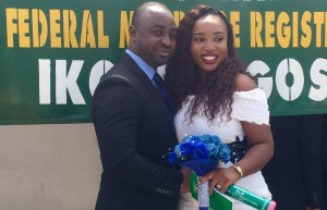 Nkem get espoused to Morgan on the 30th of June. Happy married life.